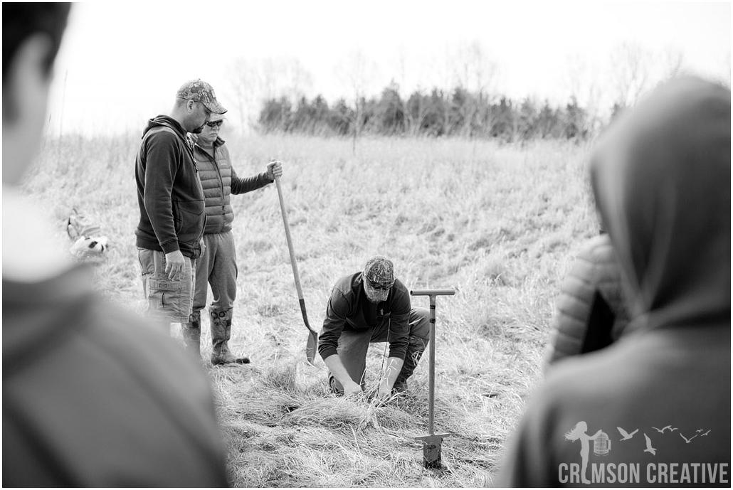 Crimson Creative Group Fox River Academy Tree Planting
